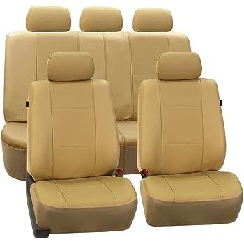 Para Nissan Note-Lujo Cuero Acolchado Look cubiertas de asiento de coche-Conjunto Completo
