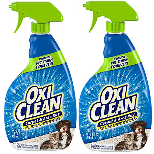 OxiClean 24 oz. Carpet and Area Rug Pet Stain and Odor Remover, 2-Pack