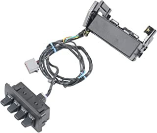 MSQ-CD Auxiliary in-Dash Upfitter Switch Panel Kit with Harness Part#AL3Z13D730AA BC3Z14A303B for Fo-rd Super Duty F150 F250 F350