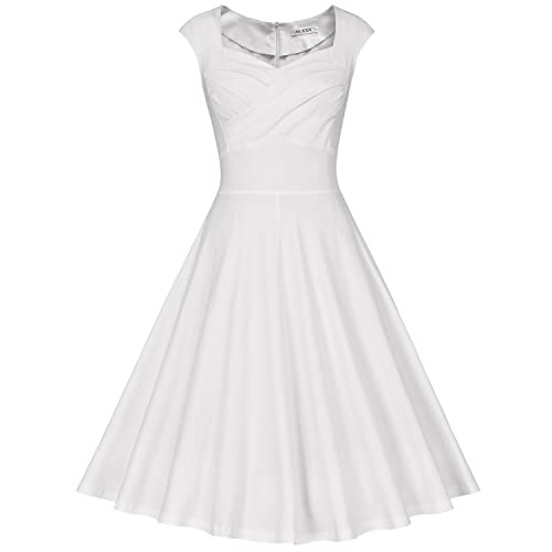 White Knee Length Dresses for Juniors: Amazon.com