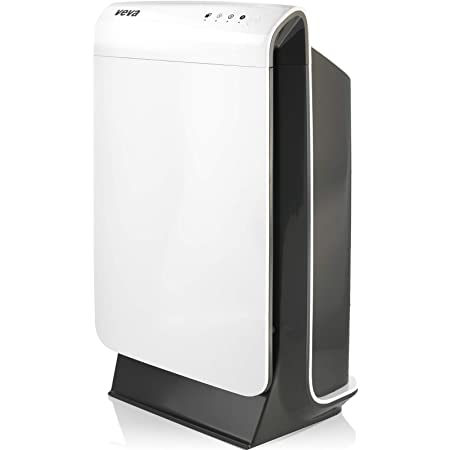 VEVA Air Purifier Large Room - ProHEPA 9000 Premium Air Purifiers for Home w/ H13 Washable HEPA Filter for Smoke, Dust, Pet Dander & Odor - White