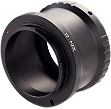 Foto4easy T2 T Lens to Sony E-mount Adapter Ring NEX-7 3N 5N 5R VG40 A7R II A6300 A6000