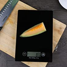 Kitchen Electronic Scale Digital Kitchen Grill Food Scales Touch Type Multi Function Button is Adopted Measuring in g oz lb kg Including Batteries