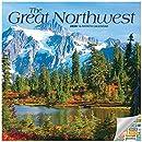 The Great Northwest カレンダー 202020セット デラックス 2020 北西部 ミニカレンダー 100枚以上のカレンダーステッカー付き