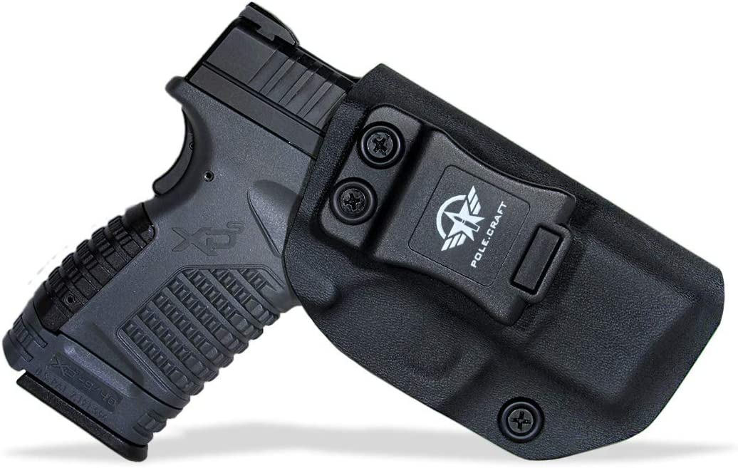 Springfield XD Holster IWB Kydex Custom Fit: Holster For Springfield Xds