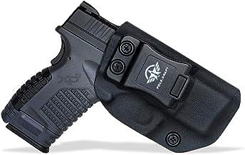 "IWB Kydex Holster Custom Fit: Springfield XD-S 3.3"" 9mm / .40 S&W / .45 ACP.."