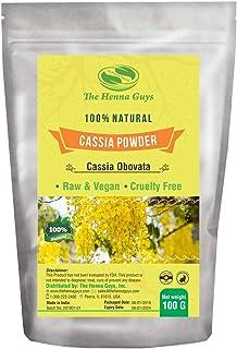 100% Pure CASSIA OBOVATA Powder For Hair - The Henna Gus (100 Grams)