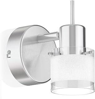 ledscom.de Luminaire MIRAS, flamme simple, GU10, plafonnier