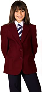 Girl School Uniform Blazers Teflon Coated Girls Blazer Coat Jacket