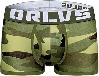 Naturemore Men's Cotton Underwear Camouflage Sexy Thin Bag Pants
