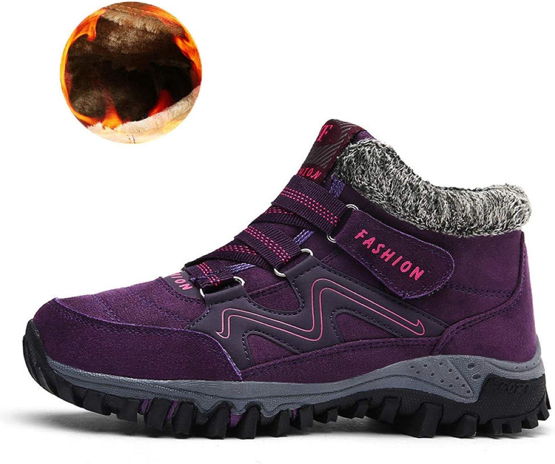 FHCGMX Men Snow Boots Plus Size 46 New Men Boots With Unisex Winter Snow Botas Warm shoes High Top Boots