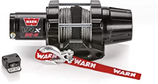 WARN 101020 VRX 25-S Powersports Winch with Handlebar Mounted Switch and Synthetic Rope: 3/16