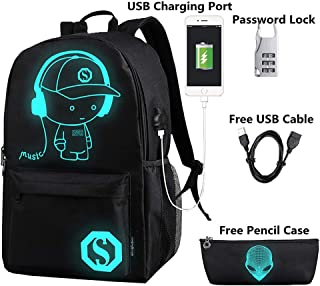 glowing backpack