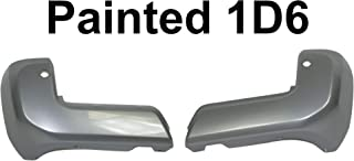 Rear Bumper Outer Extension Insert Bracket Corner Cover Rh 2pcs For Tacoma 16-20 TO1105136 TO1183116