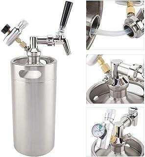 SelfTek 15 piezas de cepillo de tap/ón para grifo de cerveza y 5 piezas de cubierta para grifo de cerveza tapones de goma para grifo cubierta sanitaria