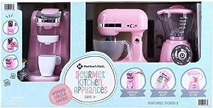 MEMBER'S MARK Gourmet Kitchen Appliance PLAYSET for Kids (Pink)
