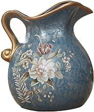 Ceramic Vase Vintage Display UniqueFlower Vase Decorative Vase for Home Decor Living Room Office Christmas Flower Bottle