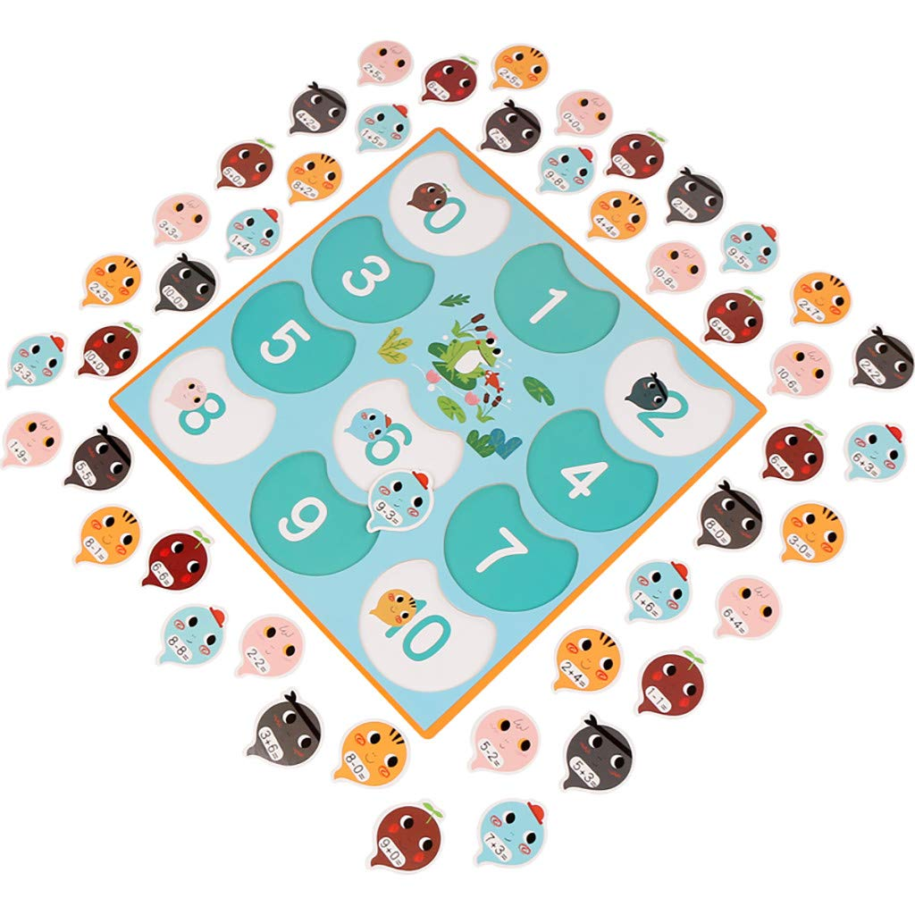 QUNANEN Early Outlet SALE Education 🌈 Toys Max 83% OFF Puzzle Children's Addition