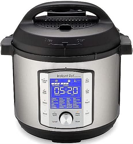 Instant Pot Autocuiseur électrique DUO EVO PLUS 5,7 L.10 fonctions en 1: stérilisateur, mijoteuse, cuiseur à riz, ma...
