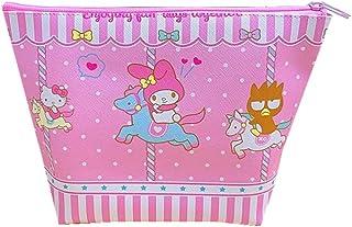 Hello Kitty محفظة صغيرة جميلة عملة محفظة كاواي حقيبة أدوات الزينة حقيبة صغيرة لمستحضرات التجميل ككاواي هالو كيتي اكسسوارات