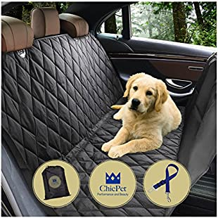 Customer reviews Dog Car Seat Cover, Boot Liner, Dog Hammock, For Pets and Kids with Pet Seat Belt Lead and Storage Bag, Waterproof, Washable, Non Slip, Fits all Cars Trucks SUVs:Maskedking