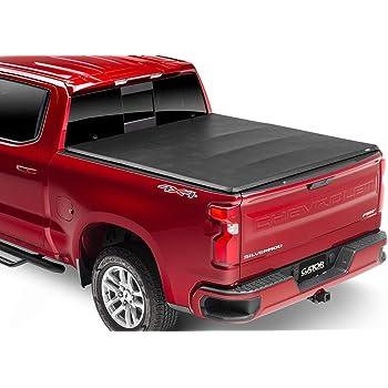 "Gator ETX Soft Tri-Fold Truck Bed Tonneau Cover   59104   Fits 2004-2006, 2007 Classic Chevy/GMC Silverado/Sierra 5'8"" Bed   Made in the USA"