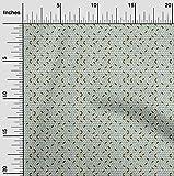 oneOone Viskose-Jersey Stoff Fischgräte Geometrisch