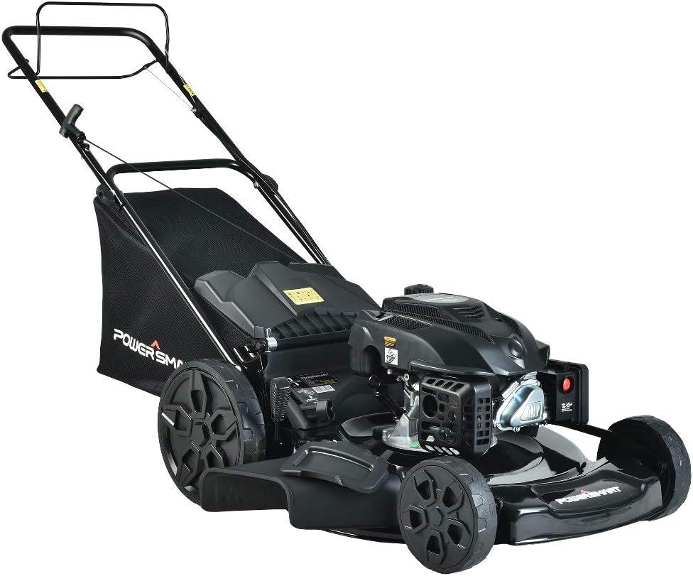 PowerSmart Lawn Mower Gas 売れ筋ランキング Push 新色追加 200cc 22-inch