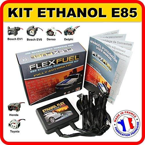 Kit Ethanol E85 8-cylindres pour: Renault, Peugeut, Citroen, Ford, BMW, Audi... (Connecteurs: BOSCH EV1)