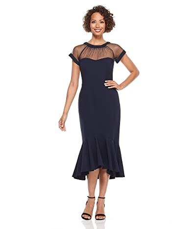 Maggy London Petite Illusion Cocktail Dress