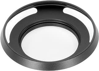Good Product 広角レンズ用 薄型 メタルレンズフード ネジ込み式 ブラック 43mm フィルター径装着用