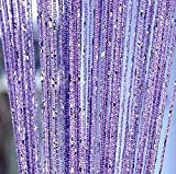 Home Decor Sequin Curtain for Doorway,Door String Curtains, 39x79 inch Hanging,Closet Bedroom Blind Living Room Divider,Window Wall Panel Fringe Backdrops Sheer no Beads Beaded Decorative Crystal