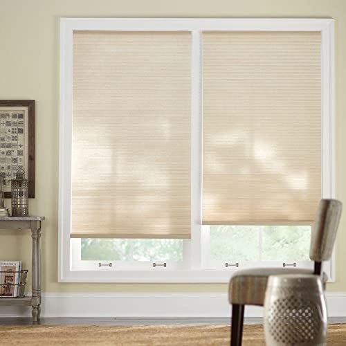 lowest Sahara 9/16 in. Cordless Cellular Shade - 36 in. W x 72 new arrival in. outlet sale L online sale