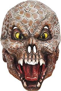 ZJMIYJ Halloween mask, halloween pytonmask latex djur mask skrämmande mask fest kostym teater halloween party mask