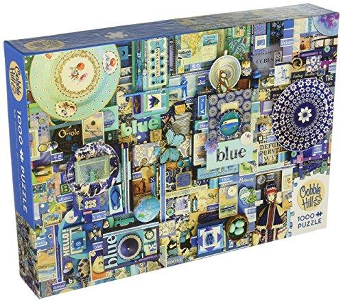 Cobble Hill Blue Jigsaw Puzzle (1000 Piece)