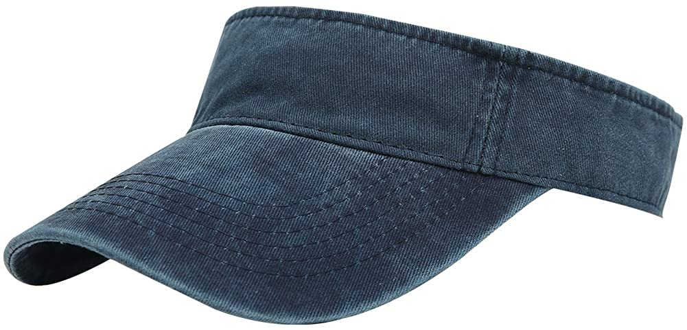 DOANNOTIUM Sport Sun Visor Hats Cotton Ball Caps Empty Top Baseball Sun Cap for Men Women