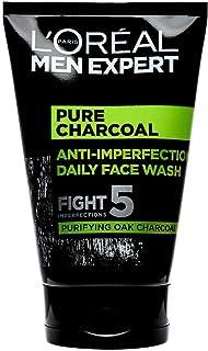 L'Oréal Paris Men Expert, rengöringsgel mot orenheter, Pure Charcoal Wash, 100 ml