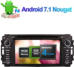 Flynavigo Android 7.1 Car Stereo CD DVD Player In Dash Car Radio Head Unit with 6.2