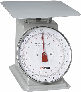 Winco SCAL-820 20-Pound/9.09kg Scale with 8-Inch Dial
