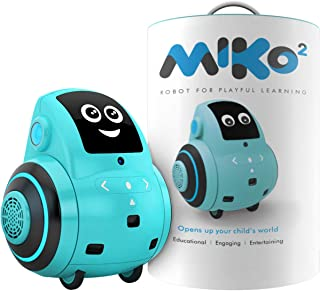 Miko 2: Playful Learning STEM Robot   Programmable + Voice Activated AI Tutor + Autonomous + Educational Games   30+ Free Apps   Best Birthday Gift for 5 6 7 8 9 Boys and Girls