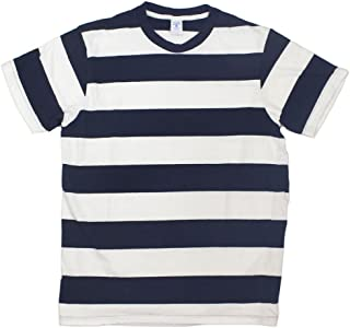 [ベルバシーン] 161550W ワイドボーダー 半袖Tシャツ アメリカ製