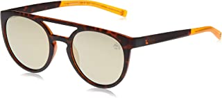 نظارات شمسية للرجال من تيمبرلاند TB916352H53 - هافانا داكن/ بني مستقطبة - مدمجة