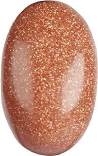 GEMHUB Piedra preciosa auténtica Sunstone de 8,85 quilates, natural certificada, corte ovalado, piedra preciosa suelta par...