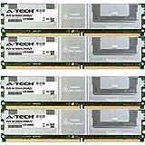 16GB KIT 4X 4GB Intel S S5000PAL S5000PALR S5000PHB S5000PSL S5000VCL S5000VSA S5000XVN SBXD132 Compute Blade Server DIMM DDR2 ECC Fully Buffered PC2-5300 667MHz RAM Memory