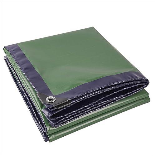 LJL Bache imperméable Bache en PE imperméable Bleu bache de Haute qualité canopée Camping en Plein air Bache Robuste (Couleur   vert, Taille   2 x 3m)