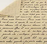 Tela para costura o tapizar con citas en italiano al corte por metros. 1 unidad es 0.50 m. x 1.45 m...