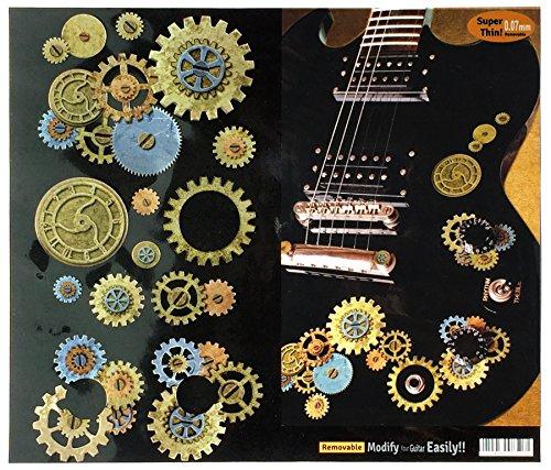 Inlay Stickers für Gitarren & Bass - Steampunk Gears