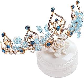 RKY Corona, Bambini Ragazze Crown Crown Tiara di Compleanno dei Bambini Fascia Parte Superiore del Rhinestone, Adatto for ...