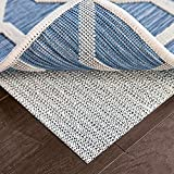 Ninja Extra Thick Rug Pad Gripper for Hardwood Floors, 8x10 FT, Slip Resistant Grip Pads for Hard Surfaces, Adds Cushion and Maximum Protection, Keeps Area Rugs and Carpets Safe and in Place on Floor