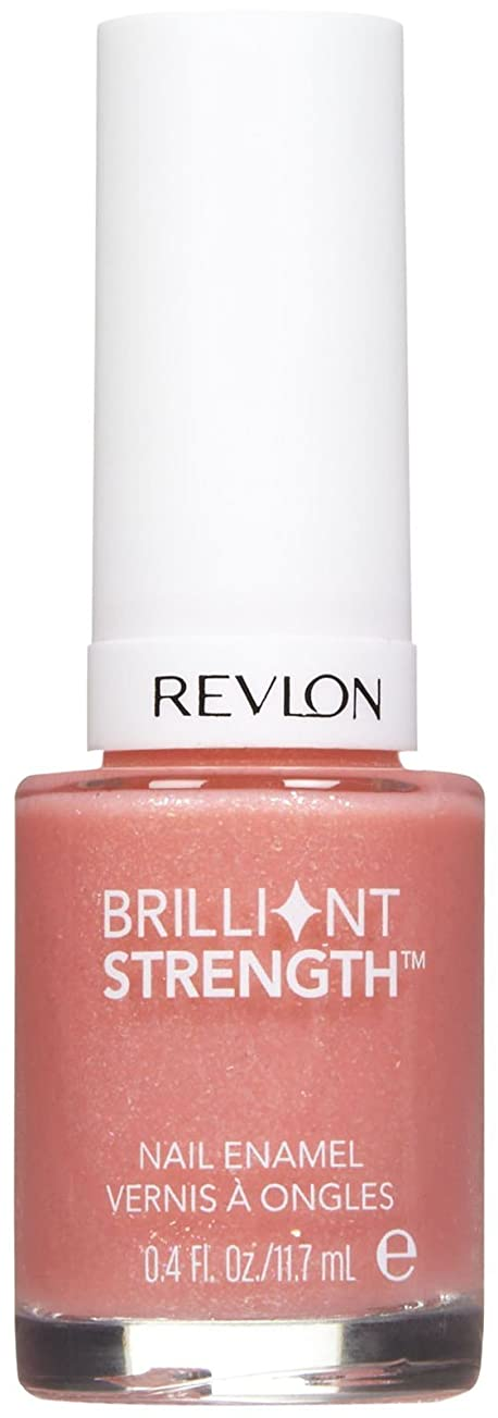 静かに残酷オピエートREVLON BRILLIANT STRENGTH NAIL ENAMEL #010 DAZZLE